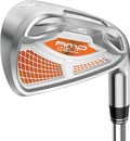 Cobra Senior AMP CELL 5-PW,GW,SW Orange Iron Set with Graphite Shafts