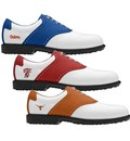 Footjoy Mens NCAA Professional Spikeless Traditional Saddle MyJoys Golf Shoes - FJ#52230