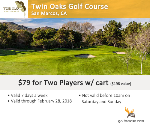 Twin Oaks Golf Course Special