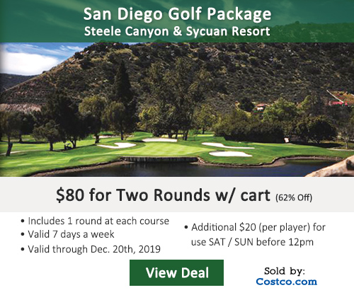 Sycuan Resort Golf Deal