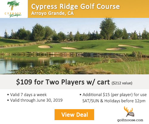 Cypress Ridge Golf Course Special