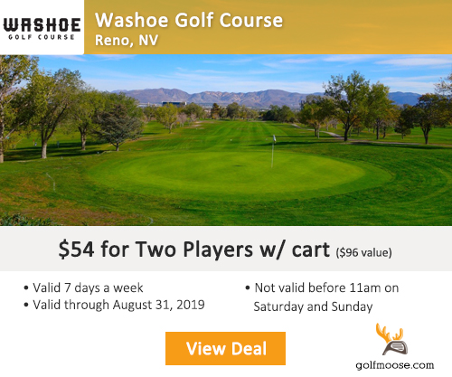 Washoe Golf Course Special