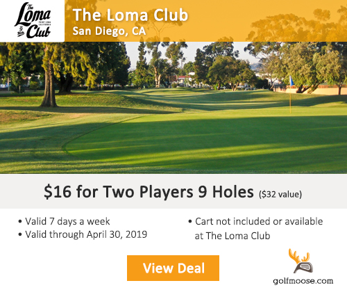 The Loma Club Golf Course Special