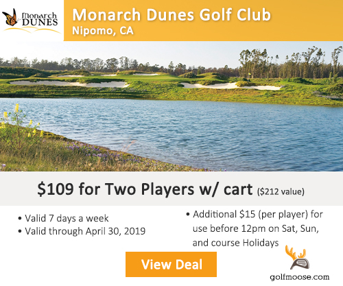 Monarch Dunes Golf Course Package