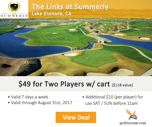 Links Championship Summerly Golf Club Special