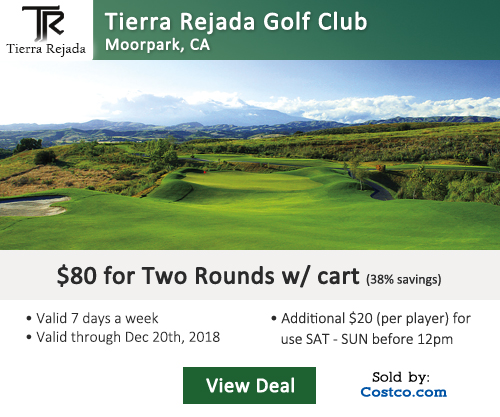 Tierra Rejada Golf Club Costco Special