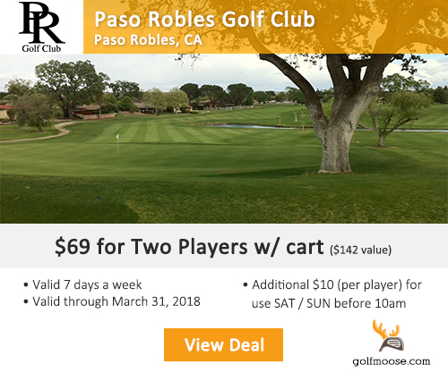 Paso Robles Golf Club Special