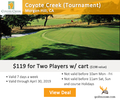 Coyote Creek Tournament Course Special
