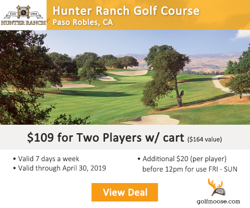 Hunter Ranch Golf Course Discount