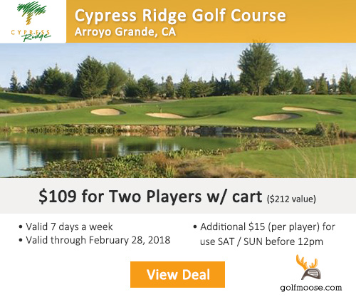 Cypress Ridge Golf Course Package